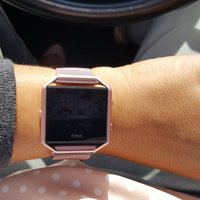 Fitbit - Blaze Smart Fitness Watch (large) - Plum uploaded by Danielle L.