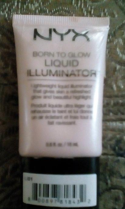 NYX Cosmetics Born to Glow Liquid Illuminator uploaded by Tara K.