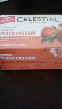 Celestial Seasonings Country Peach Passion Caffeine Free Herbal Tea - 20 CT uploaded by Felicia W.