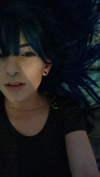 Photo of Sparks Long Lasting Bright Hair Color Electric Blue uploaded by Jasmine C.
