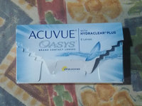 Acuvue Oasys Contact Lenses uploaded by Sophia J.