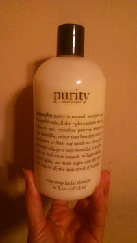 philosophy purity made simple one-step facial cleanser uploaded by Michelle G.