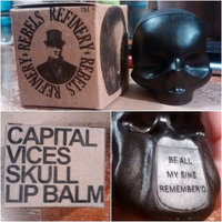 Rebels Refinery Capital Vices Skull Lip Balm Neon Pink Luxuria 5.5g (Passion Fruit) uploaded by Forrest Jamie S.