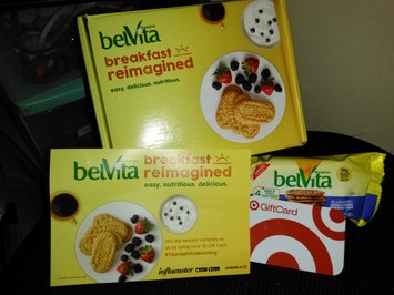 Photo of belVita Blueberry Breakfast Biscuits uploaded by ALEXVINA J.