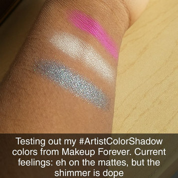 Photo of MAKE UP FOR EVER Artist Color Shadow High Impact Eye Shadow uploaded by Dymond M.