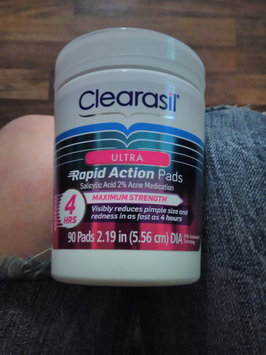 Photo of CLEARASIL® Rapid Rescue Deep Treatment Pads uploaded by Alisha D.
