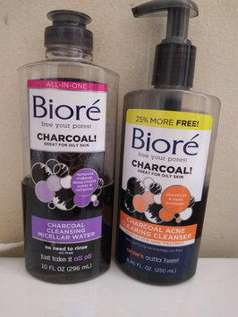 Photo of Bioré Deep Pore Charcoal Cleanser uploaded by Yvette😘 B.