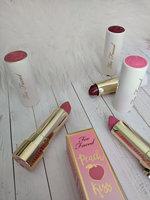 Too Faced Peach Kiss Moisture Matte Long Wear Lipstick uploaded by Diana B.