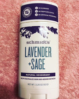 Schmidt's Deodorant Lavender + Sage Deodorant uploaded by kids k.