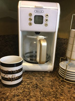 Sensio BELLA Dots 2.0 Programmable Coffee Maker White/Gold uploaded by Vane G.