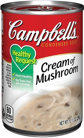 Campbell's Condensed Soup Cream of Mushroom uploaded by Brianna D.