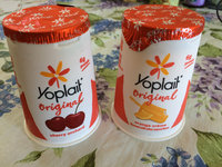 Yoplait Original 99% Fat Free Cherry Orchard Low Fat Yogurt uploaded by Val G.