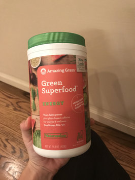 Photo of Amazing Grass Green Superfood Energy Drink Powder Watermelon - 7.4 oz - Vegan uploaded by Elizabeth D.