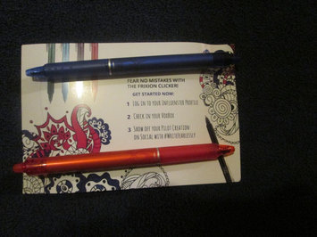 Photo of Pilot FriXion Clicker Erasable Gel Pen, Blue Ink uploaded by Brenda F.