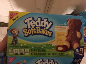 Photo of Nabisco Teddy Soft Bakes Vanilla Filling 6ct 6.36 oz uploaded by Nicole B.