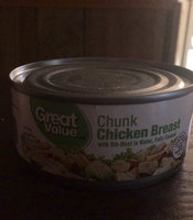 Great Value: Premium Fully Cooked Chunk Chicken, 12.5 Oz uploaded by Kaitlyn P.