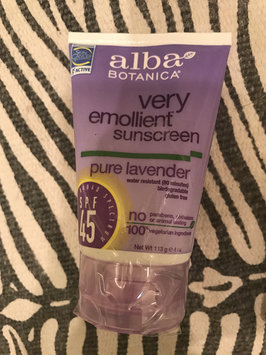 Alba Botanica Soothing Sunscreen Pure Lavender Lotion uploaded by Elizabeth D.