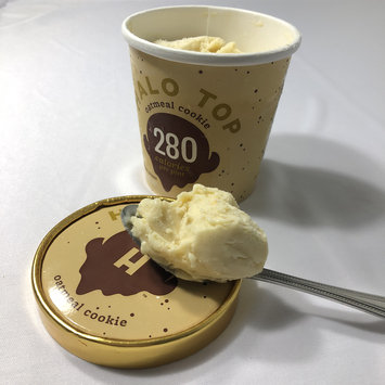Photo of Halo Top Oatmeal Cookie Ice Cream uploaded by Liana L.