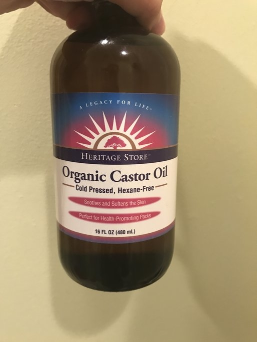 Frontier Natural Products Co-op 221530 Heritage Store Castor Oil Therapy Organic Castor Oil 16 fl. oz. uploaded by Elizabeth D.