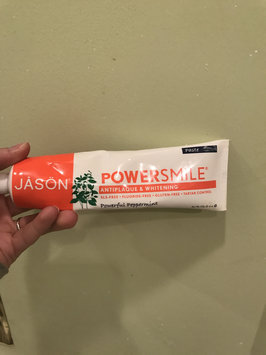 Photo of JASON Powersmile® Whitening Toothpaste Powerful Peppermint uploaded by Elizabeth D.
