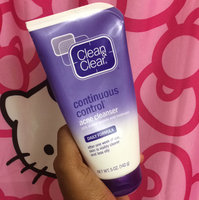 Clean & Clear Continuous Control Acne Cleanser uploaded by Symone S.
