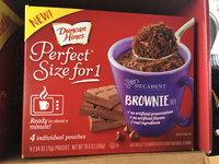 Duncan Hines Perfect Size For 1 Brownie Mix uploaded by Brendan E.