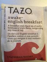 Tazo Awake™ English Breakfast uploaded by sandra p.