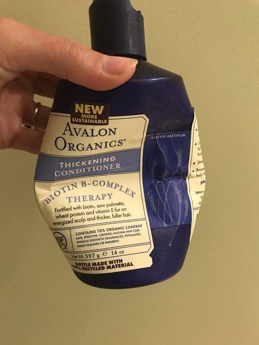 Avalon Organics Biotin B-Complex Thickening Conditioner uploaded by Elizabeth D.