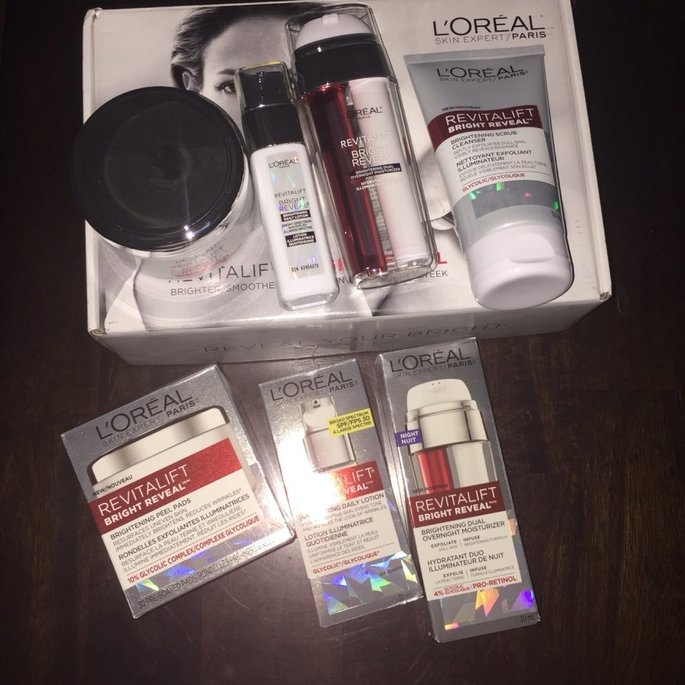 L'Oréal Paris Revitalift Bright Reveal SPF 30 Moisturizer uploaded by Jordanne O.