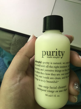 philosophy purity made simple one-step facial cleanser uploaded by Yudelkys G.