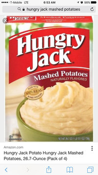 Photo of Hungry Jack Mashed Potatoes uploaded by April G.