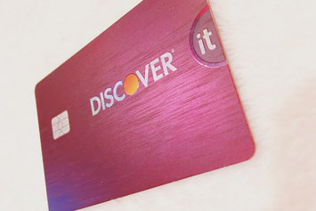 Discover it Cashback Match Credit Card uploaded by Krista A.