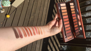 Urban Decay Naked Heat Eyeshadow Palette uploaded by Payton E.