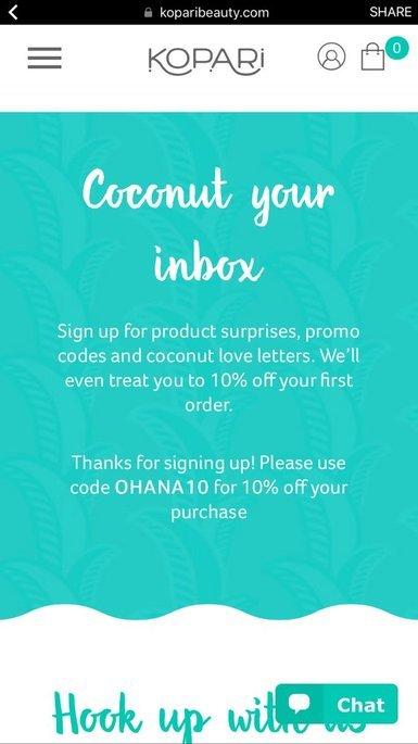 Kopari Coconut Lip Love uploaded by Mary E.