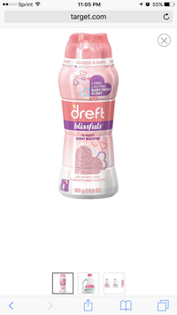 Photo of Dreft Blissful In-Wash Scent Booster: 19.5 oz uploaded by Angel R.