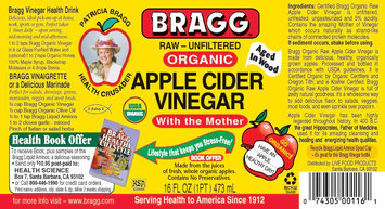 Photo of A.M. HW Bragg Apple Cider Vinegar 16oz uploaded by Dayton L.