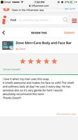 Dove Men+Care Aqua Impact Body And Face Bar uploaded by Elizabeth C.