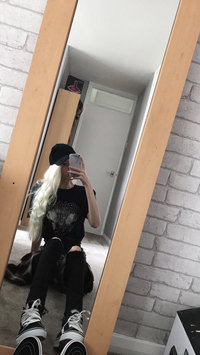 Photo of Garnier Nutrisse Hair Color, Ultra Bleach Blonde Creme Lightener uploaded by Kaitie B.