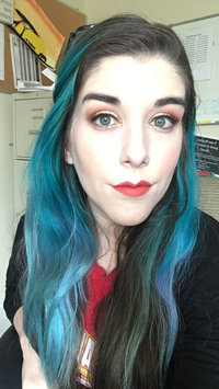 Photo of Ion Color Brilliance Brights Semi-Permanent Hair Color Aqua uploaded by Lauren M.