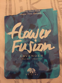 Photo of Origins Flower Fusion™ Lavender Soothing Sheet Mask uploaded by Tayler H.