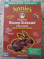 Annie's® Homegrown Bunny Grahams Snacks Chocolate uploaded by jill s.