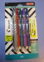 Pilot G2 Fashion Gel Ink Pen, Assorted Ink/Barrels (5 pack) uploaded by Nadia S.