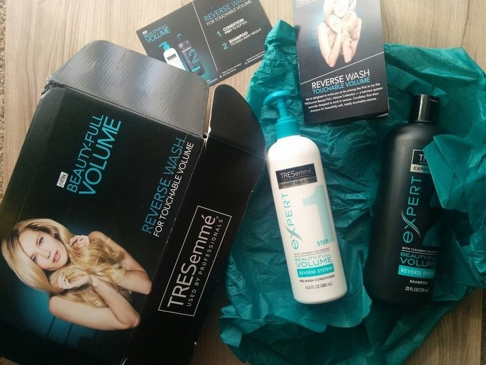 TRESemmé Beauty-FULL Volume Pre-Wash Conditioner & Shampoo uploaded by Madison H.