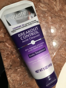 Photo of Equate Beauty Breakout Control Acne Cleanser uploaded by Julie N.