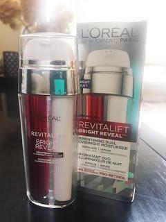 Photo of L'Oréal Paris RevitaLift® Bright Reveal Brightening Dual Overnight Moisturizer uploaded by Manda D.