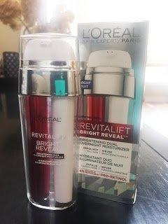 L'Oréal Paris Revitalift Bright Reveal Brightening Dual Overnight Moisturizer uploaded by Manda D.