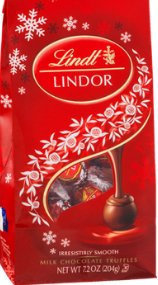 Lindt Lindor Milk Chocolate Truffles uploaded by Carol Y.