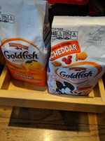 Goldfish® Cheddar Baked Cheddar Snack Crackers uploaded by Rose S.