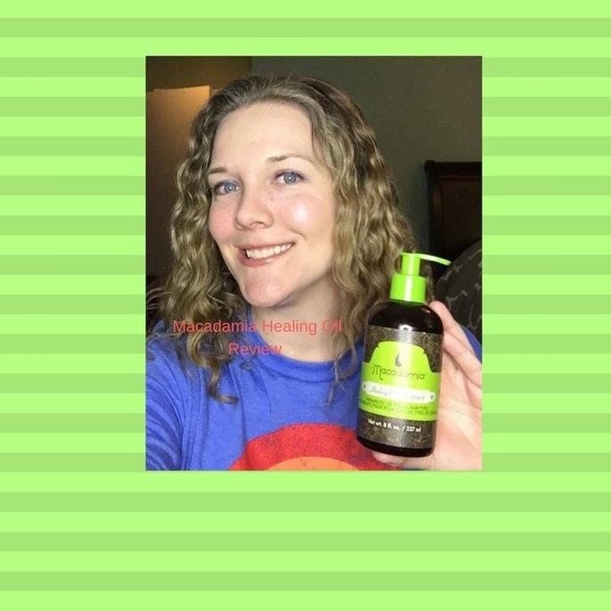 Macadamia Natural Oil Healing Oil Treatment uploaded by Kate S.