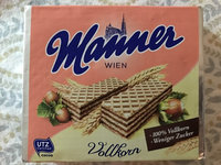 Manner Wafers Hazelnut Cream Filled Wafers, 2.54-Ounce (Pack of 12) uploaded by Erica D.
